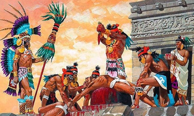 Asal Usul Suku Aztec, Suku Yang Menumbalkan Manusia