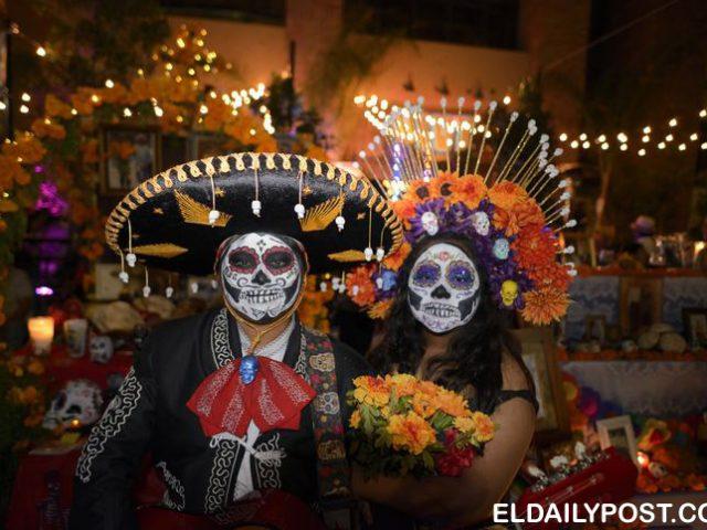 Tempat merayakan Día de Muertos di Meksiko