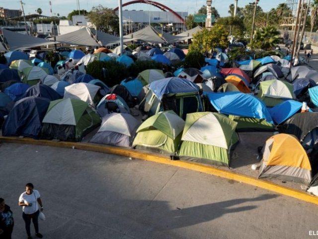 Amerika mendesak Meksiko untuk membersihkan kamp Pengungsi Di Perbatasan